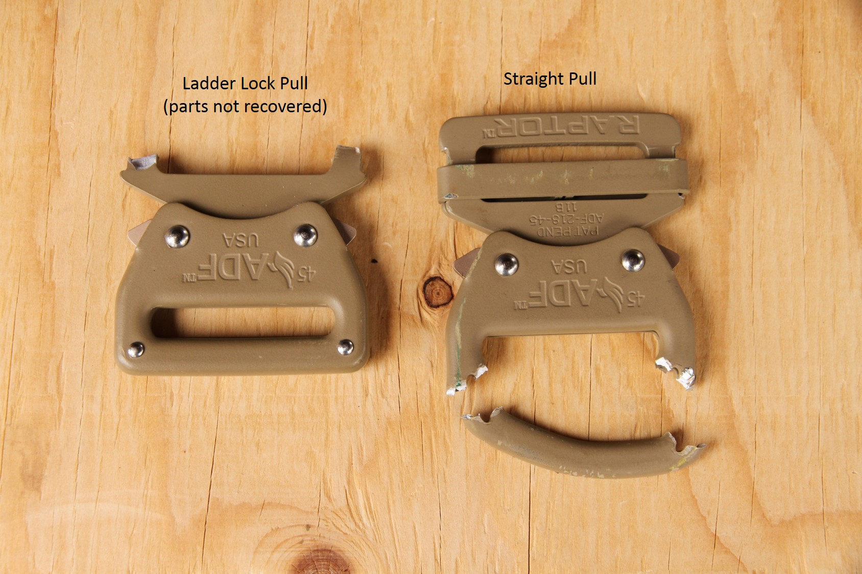Raptor™ Buckle – Put to the Test   Private Bloggins